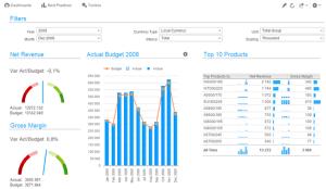 Infor d/EPM - analiza danych iPad