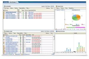 Oracle Hyperion Financial Close Management - ekran narzędzia