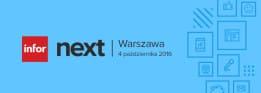 Infor Next Polska - 4. października konferencja w Warszawie