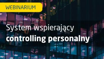 System wspierający controlling personalny - webinarium